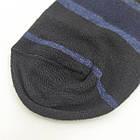 Носки мужские демисезонные средние Loft Socks 27-29р черные с синими полосками 20034047, фото 2