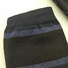 Носки мужские демисезонные средние Loft Socks 27-29р черные с синими полосками 20034047, фото 3