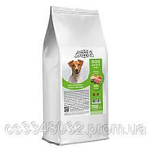 Home Food DOG ADULT MINI «Ягненок с рисом» корм активных собак и юниоров мелких пород  700г