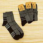 Носки мужские демисезонные, СПОРТ, средние, Loft Socks, 27-29р, темно-серые, 20035303, фото 2