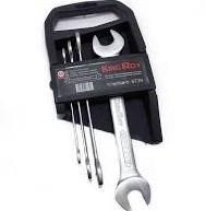 Набор ключей рожковых, 4 рожковых ключа (8*10\12*13\14*15\17*19) KING ROY 6739