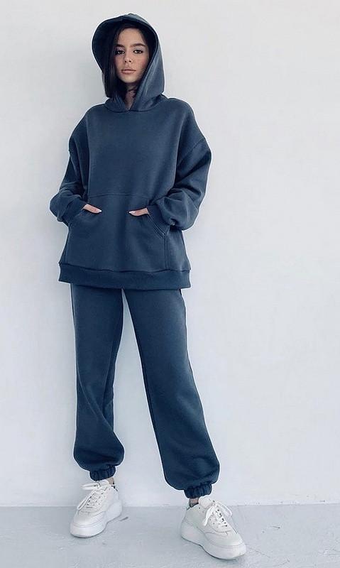 Спортивный костюм 28506 42 синий