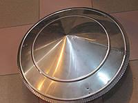 Грибок из нержавейки для дымоходной трубы диаметр 300мм.