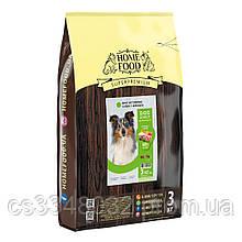 Home Food DOG ADULT MEDIUM  «Ягненок с рисом» корм активных собак и юниоров средних пород  3кг
