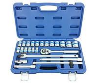 Набор инструментов 24 предмета. Качественный, профессиональный ручной инструмент King Roy в кейсе. 024-MDA