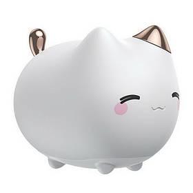 Нічник Baseus Cute Series Kitti білий (DGAM-A02)