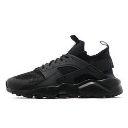 Кроссовки Nike Air Huarache Ultra Black Черные женские