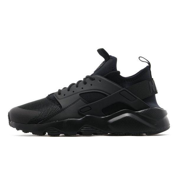Кроссовки Nike Air Huarache Ultra Black Черные мужские