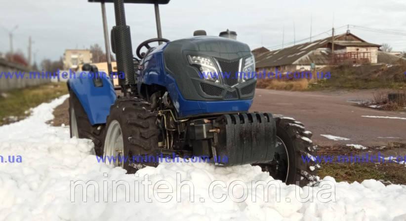 Трактор Forte ХТ-454 Lux + кабина 50000 грн.