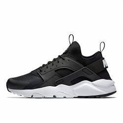 Кроссовки Nike Air Huarache Ultra Black White Черные женские