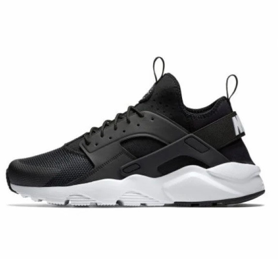 Кроссовки Nike Air Huarache Ultra Black White Черные мужские
