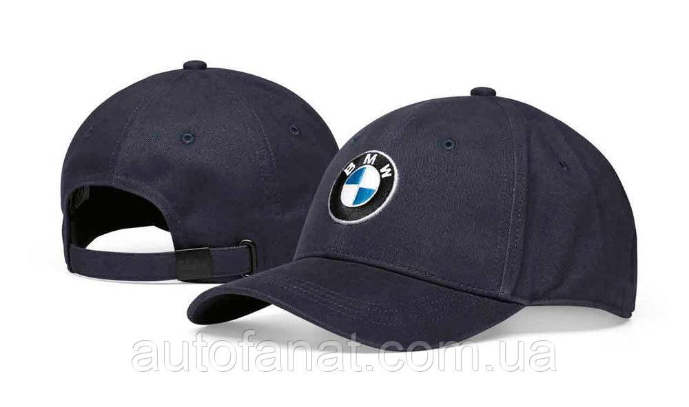 Оригинальная бейсболка унисекс BMW Logo Cap, Dark Blue Размер: S - XS (80162454621)