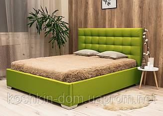 Мягкая двуспальная кровать Арма
