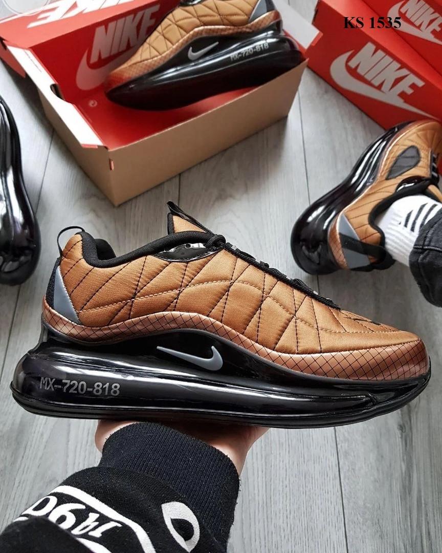 Мужские кроссовки Nike Air Max AM720-818 (коричневые) KS 1535