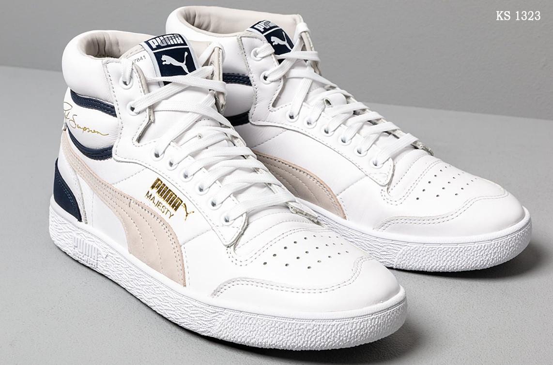 Мужские зимние кроссовки Puma Ralph Sampson OG (белые) ЗИМА