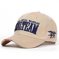 Бейсболка Han-Wild Sealteam Khaki мужская кепка спортивная стильная