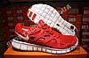 Кроссовки Nike Free Run 2.0 Red Красные женские, фото 2