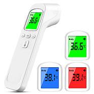 Электронный инфракрасный бесконтактный медицинский термометр-градусник JETIX Phicon с коррекцией температуры, фото 4
