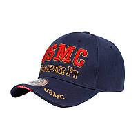 Мужская бейсболка Han-Wild USMC Blue кепка для мужчин