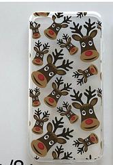 Новогодний силиконовый чехол на  iPhone 7 Plus/8 Plus