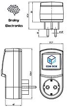 Умная розетка управление через телефон с функцией терморегулятора (Максимальная версия)