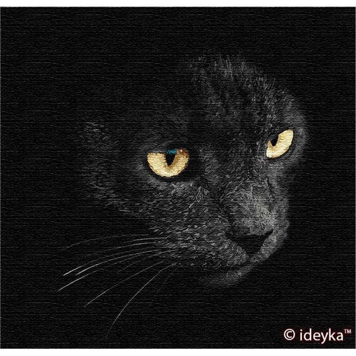 Картина по номерам Взгляд хищника Sergey Polyushko 40 х 40 ТМ Идейка КНО4204