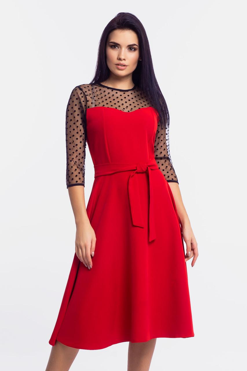 S, M, L, XL | Вечірнє жіноче плаття Blade, червоний