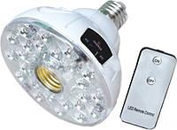 Аккумуляторный светильни.с пультом в патрон E27 300Lm Lemanso LMB19