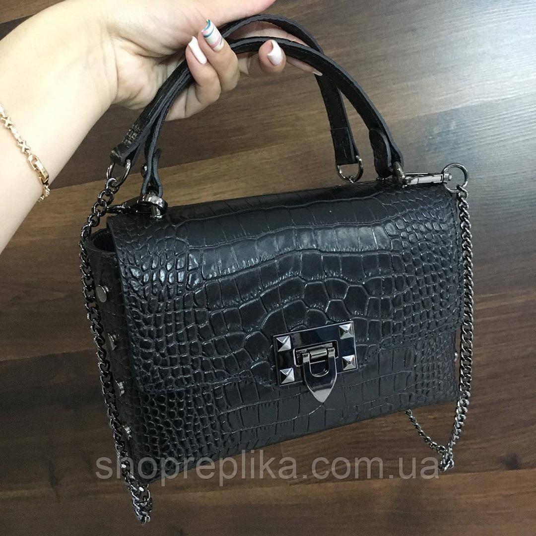 Итальянская кожаная женская сумка Женские сумки натуральная кожа сумка через плечо  кроссбоди клатч