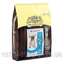Home Food DOG  PUPPY MINI  «Форель с рисом» гипоаллергенный корм для щенков мелких пород 1,6кг