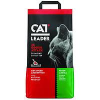 Комкующийся наполнитель Cat Leader Clumping 2xOdour Attack Fresh для кошачьих туалетов (10 кг.)