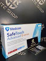 Сині нітрилові рукавички Medicom Safe Touch без пудри, краща якість за доступною ціною! 100 шт упаковка