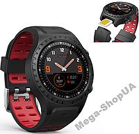 Сенсорные смарт-часы Smart Watch M1S-BR, GPS, GSM, телефон-часы, спорт часы, умные часы, наручные часы, фото 1