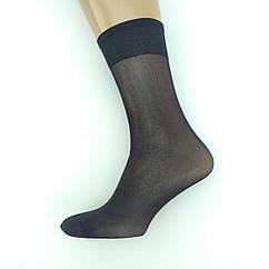 Гольфы капроновые «Сако», 20DEN, широкая резинка, уплотнённый носок, черные, 20021290
