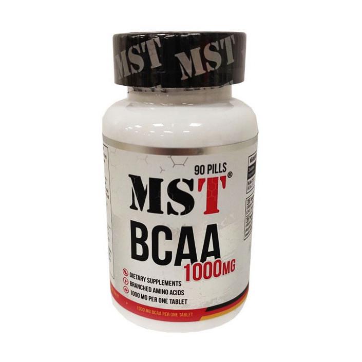 BCAA аминокислоты MST BCAA 1000 90 pills