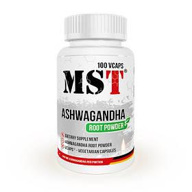 Ашваганда MST Ashwagandha Root Powder 100 veg caps