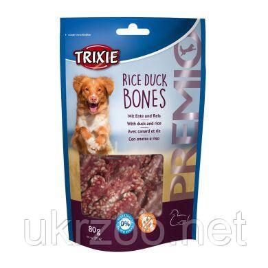 Лакомство для собак Trixie PREMIO Rice Duck Bones 80 г (утка) 31742
