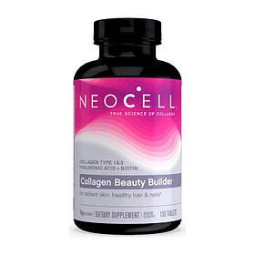 Коллаген с гиалуроновой кислотой NeoCell Collagen beauty builder 150 tabs