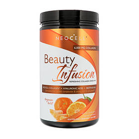 Коллаген 1 и 3 типа с гиалуроновой кислотой NeoCell Beauty Infusion Collagen Drink Mix 330 g