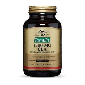 Тоналин с Конъюгированной линолевой кислотой Solgar Tonalin 1300 mg CLA 60 softgels