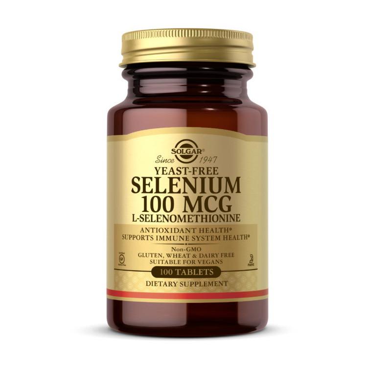Селен Solgar Selenium 100 mcg 100 tab