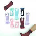 Носки детские с кружевом, цветные, KIDS SOCKS, Украина, ростовка(16,18,20), ассорти 20023430, фото 7