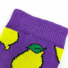 Носки детские с приколами средние Neseli Coraplar Kids 7309-2 Lemon 27-30р 20036584, фото 6