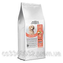 Home Food  DOG PUPPI MEDIUM MAXI «Индейка и лосось» корм для щенков здоровая кожа и блеск шерсти 1кг