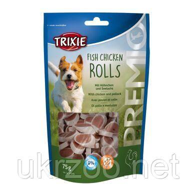 Лакомство для собак Trixie PREMIO Chicken and Pollock Rolls 75 г (курица и лосось) 31535