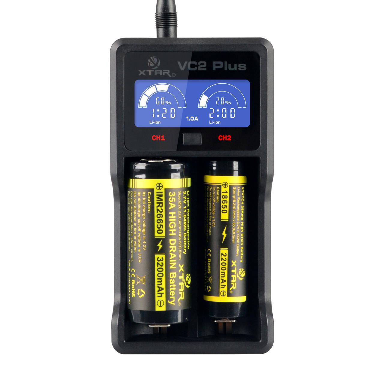 Зарядное устройство Xtar MC2 PLUS