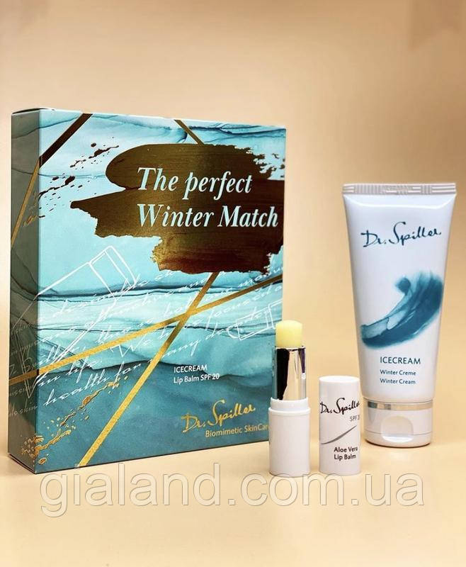"Набор Icecream ""The perfect winter match"" Dr. Spiller"