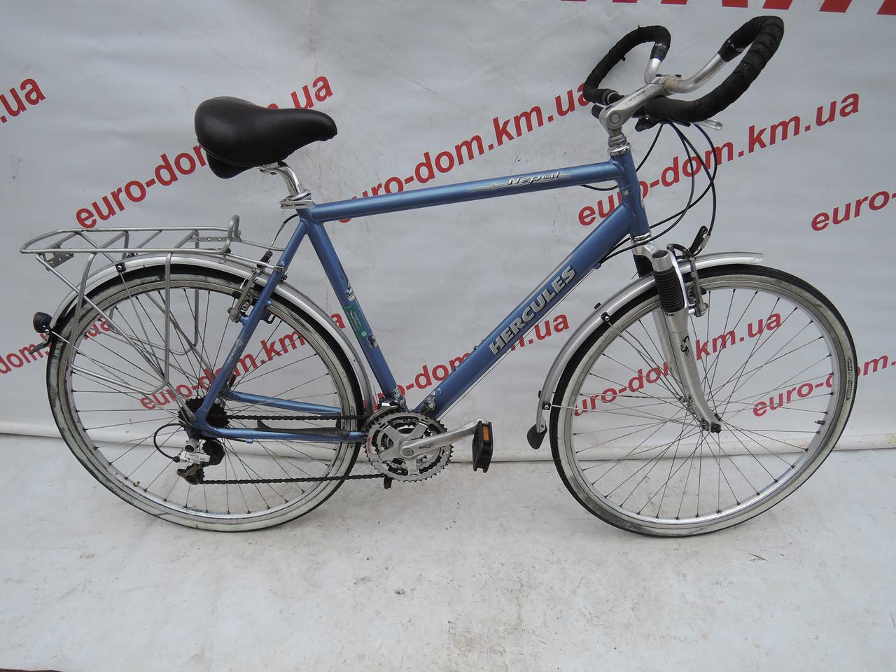 Городской велосипед Hercules 28 колеса 21 скорость