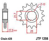 Звезда стальная передняя JT Sprockets   JT JTF1298.17, фото 2