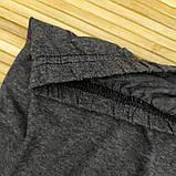 Бриджи женские серые батал 3/4 ALGI tekstil (в ростовке размеры: 58-60-62-64-66-68),20013882, фото 6